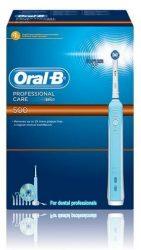 Braun Oral-B ProfessionalCare 500 D16 5db pótfejjel