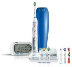 Oral-B D34 Triumph 5000 elektromos fogkefe 7 db pótkefével + Ajándék