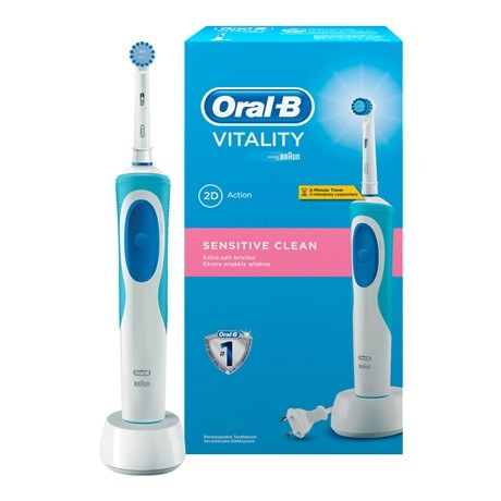 oral b vitality sensitive clean id m r s fogkefe elektromos fogkefe feh r fog. Black Bedroom Furniture Sets. Home Design Ideas