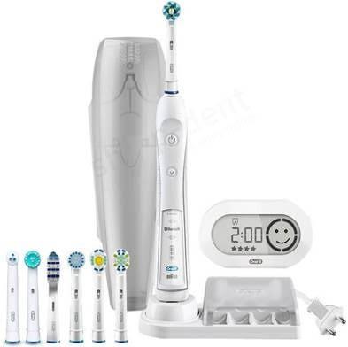 Braun Oral-B PRO 6000 D36.575.5x elektromos fogkefe 8 pótkefével